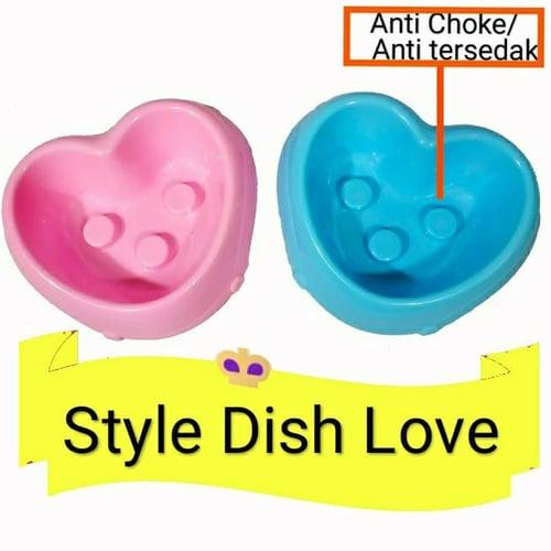Tempat makan hewan / Style dish love