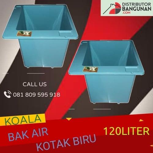 Bak Air Kotak Biru 120 Liter KOALA
