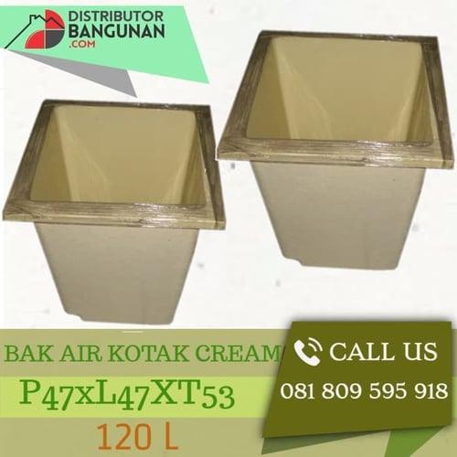 Bak Air Kotak 120 Liter Cream P47xL47xT53