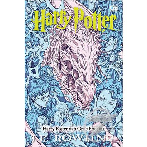 Harry Potter dan Orde Phoenix (Novel)- Cover Baru - J.K. Rowling