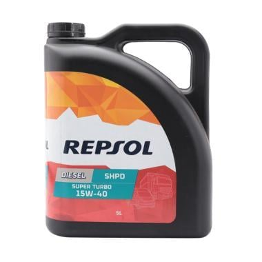 REPSOL Turbo S.H.P.D SAE 15W/40 Oli Pelumas 5 Liter