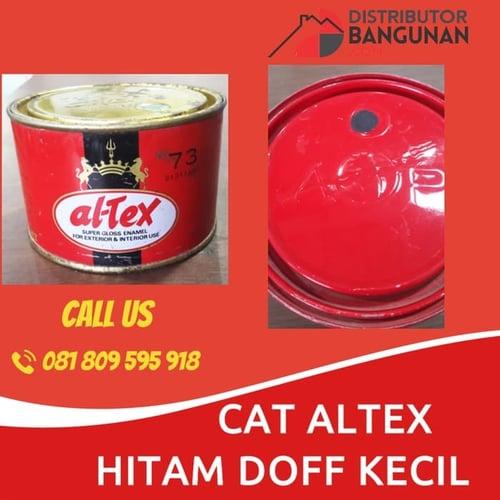 CAT ALTEX HITAM DOFF KECIL