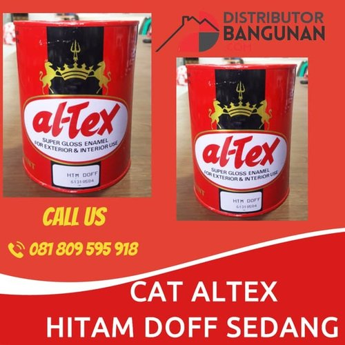 CAT ALTEX HIITAM DOFF SEDANG