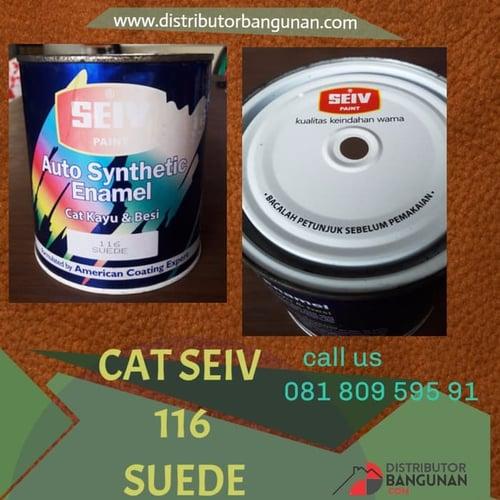 CAT SEIV 116 SUEDE