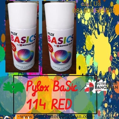 Cat Semprot PB114 Red PYLOX BASIC