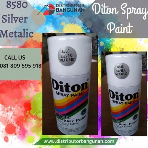 Cat Semprot 8580 Silver Metallic 300 cc DITON