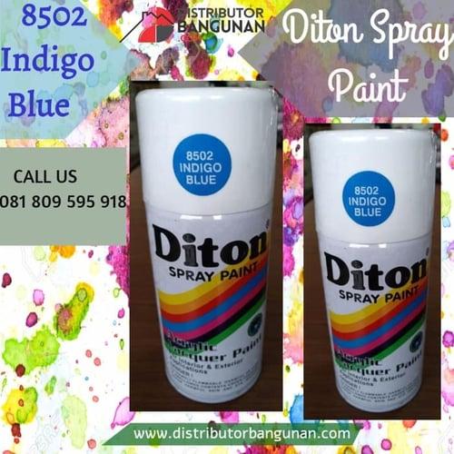 Cat Semprot 8502 Indigo Blue 300 cc DITON