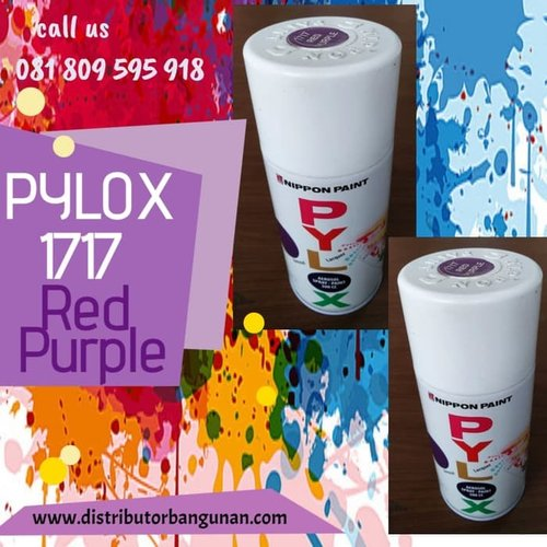 Cat Semprot 1717 Red Purple PYLOX