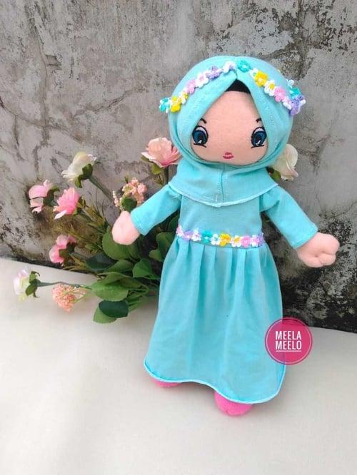Boneka Muslimah - Boneka Eliza Toska - Mainan Edukasi