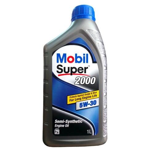 Mobil Super 2000 5w-30 Semi Synthetic Oli Pelumas 1 L