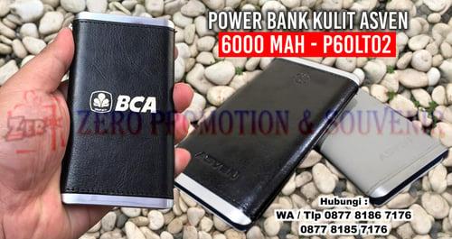 Powerbank Souvenir Kantor 6.000mAh P60LT02