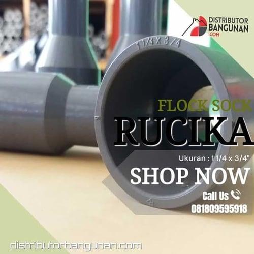 Flock Sock 1 1/4 X 3/4 RUCIKA