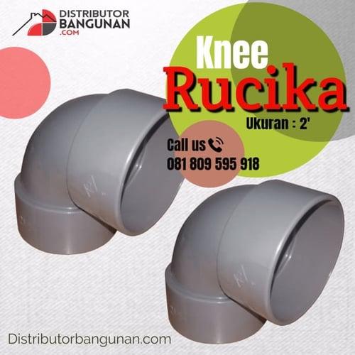 Fitting Pvc Sambungan Pipa Pvc Paralon Knee 2 Rucika