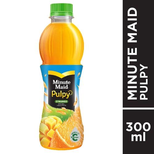MINUTE MAID Pulpy O Mango PET 300ml 1 Karton