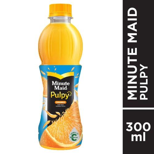MINUTE MAID Pulpy Orange PET 300ml 1 Karton