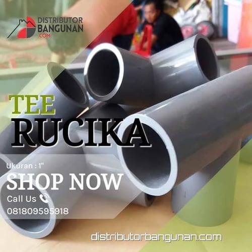Fitting Pvc Sambungan Pipa Pvc Tee 1 Rucika
