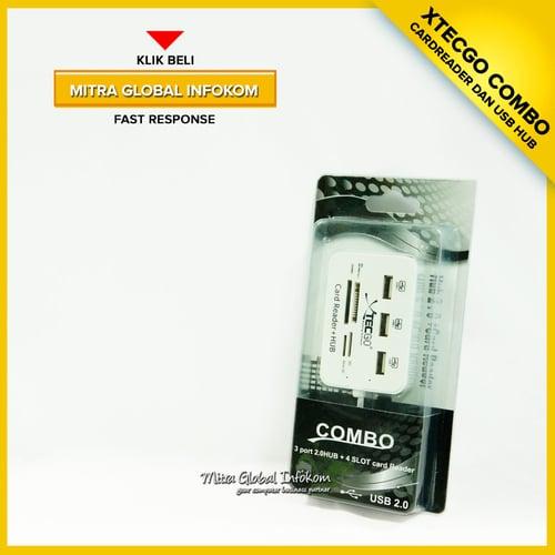 Card Reader USB Hub Combo Murah