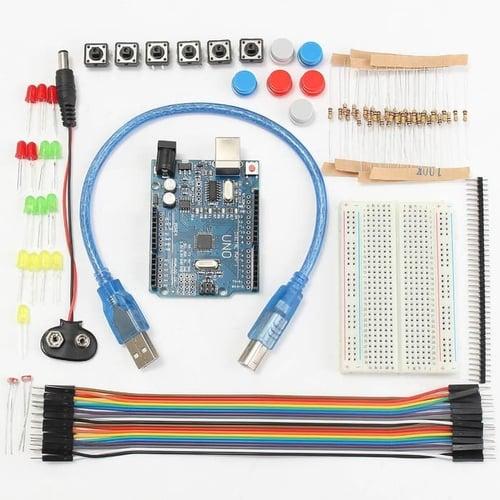 Basic Starter Kit Arduino - UNO R3 Compatible