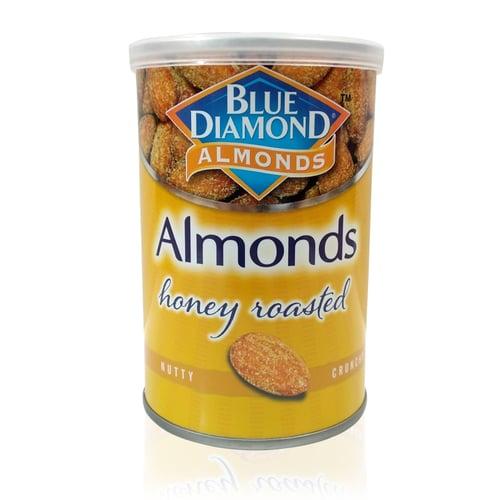 BLUE DIAMOND Almond Roasted Honey 12x130Gr/Ctn