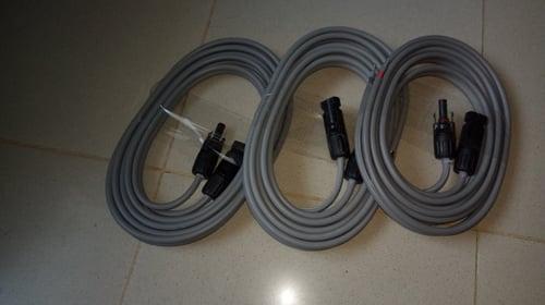 Kabel Solar Panel 2,5mm Panjang 2,5meter