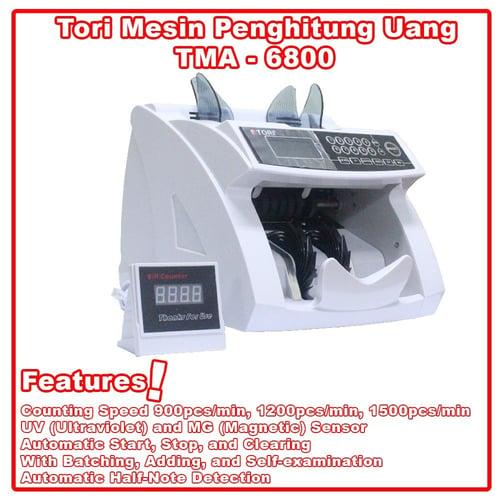 TORI Mesin Penghitung Uang TMA-6800