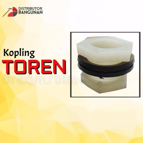 Kopling Toren 1/2 x 3/4′ Ukuran 250 Liter