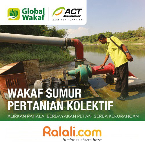 ACT - Wakaf Sumur Pertanian Kolektif