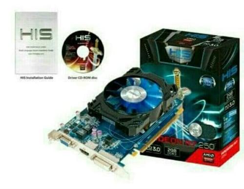 VGA Card HIS R7 250 2GB DDR5 128Bit