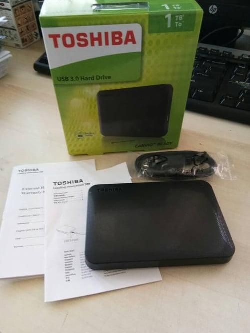 Harddisk External Toshiba Canvio 1TB 2.5 Inch