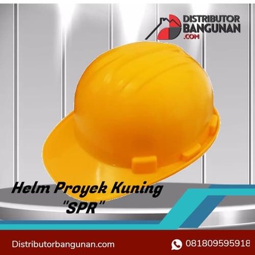 Helm Proyek Warna Kuning