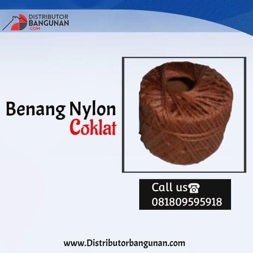 Benang Nylon Coklat
