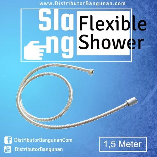 Selang Slang Flexible Flexibel Shower Ukuran 1.5 Meter