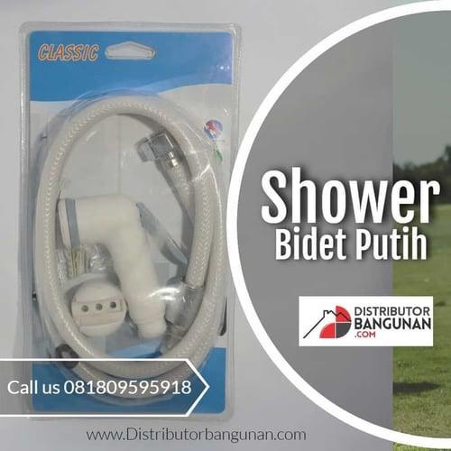 Shower Bidet Putih