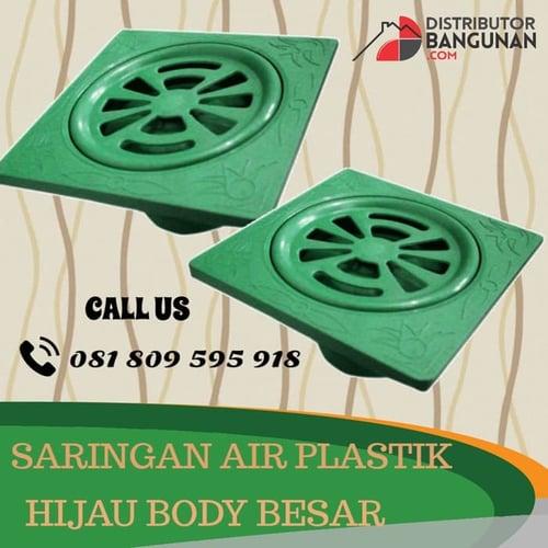 Saringan Air Plastik Hijau Body Besar BMJ