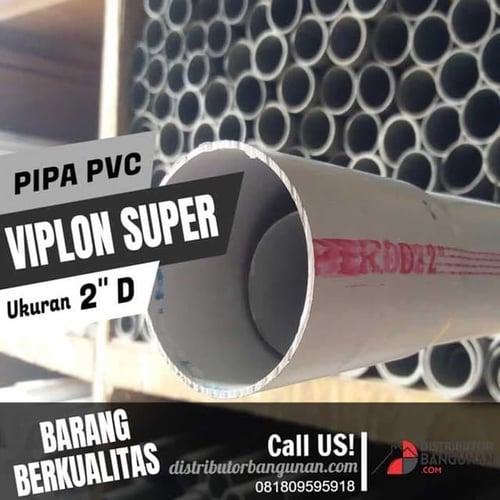 Pipa Pvc Pipa Paralon Viplon Super PUTIH 2' Type D