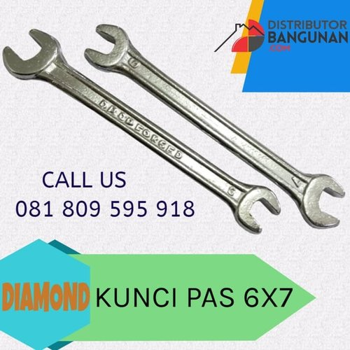 Kunci Ring Tebal Double Offset Spanners India 6x7