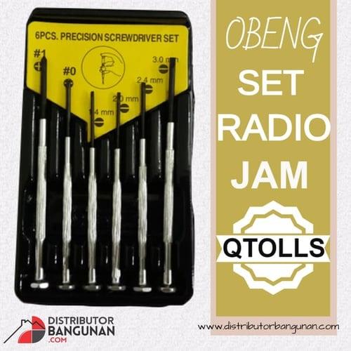 Obeng Set Radio Jam