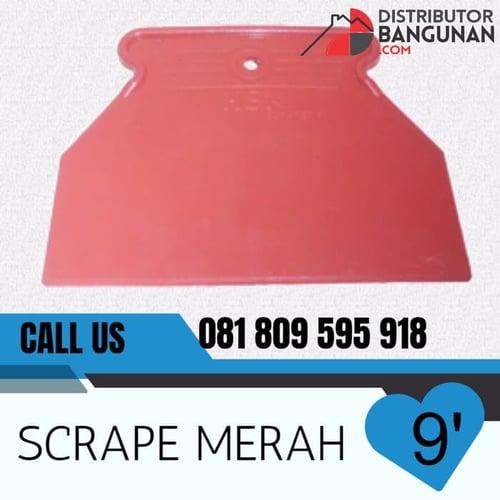 Scrape Warna Merah 9