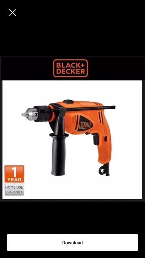 mesin Bor 13mm 550W Hammer Drill Carton HD500-B1