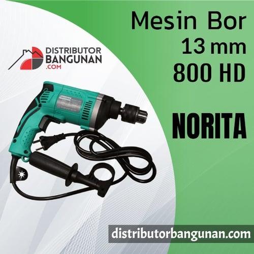 Mesin Bor 13mm 800 HD NORITA