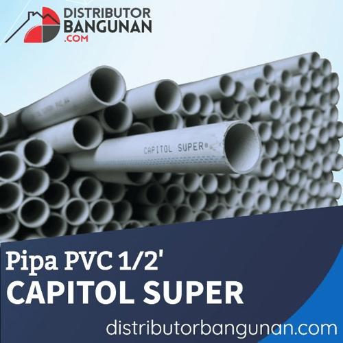 Pipa PVC 1per2 CAPITOL SUPER