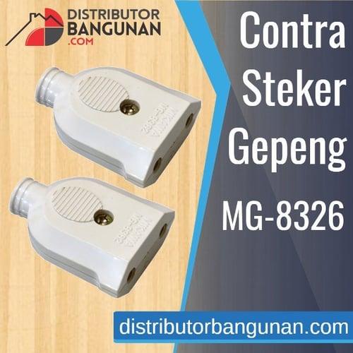 Contra Steker Gepeng MG 8362 MIKAWA