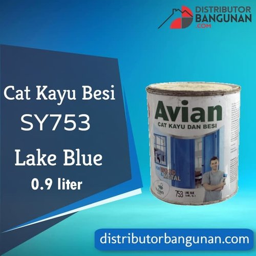 Cat Kayu Besi SY753 Lark Blue 0,9 Liter Avian