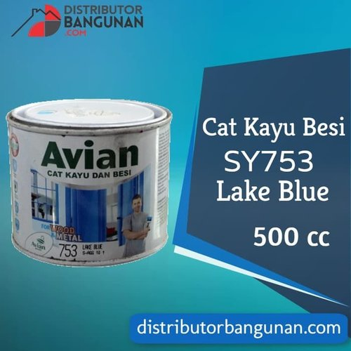 Cat Kayu Besi SY753 Lark Blue 500 cc Avian