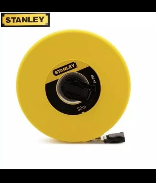 Meteran ukur 30m - 100' Long Tape Closed Fiberglass Blade STHT34262-8  stanley