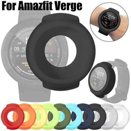 Huami Amazfit Verge Ultra Thin Silicone Protection Bumper Full Case Varian Grey