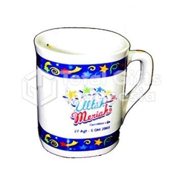Souvenir Promosi Mug Decal Nescafe