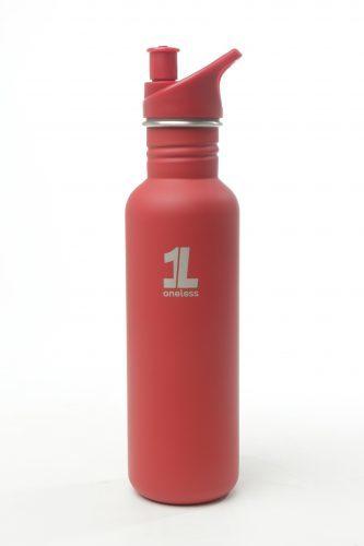 Souvenir Promosi One Less Bottle Red