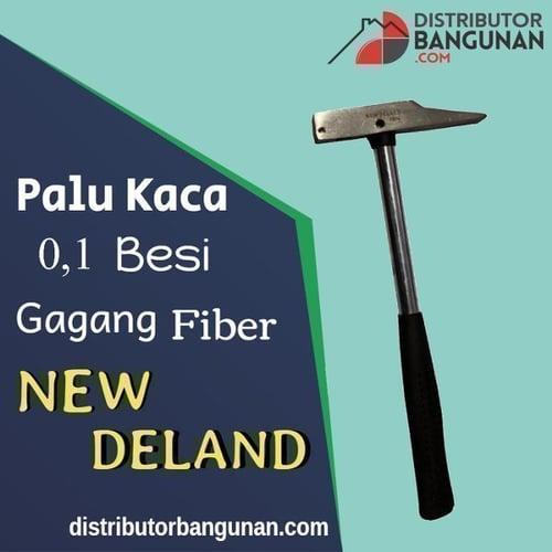 Palu Kaca 0,1Besi Gagang Fiber NEW DELAND