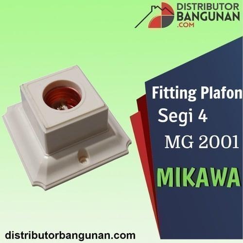Fitting Plafon Segi 4 MG 2001 MIKAWA